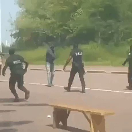 ナタを取り出して切りつけにかかる犯人を冷静に取り押さえる警官がかっこよすぎた  https://t.co/ddwgiM6y7r