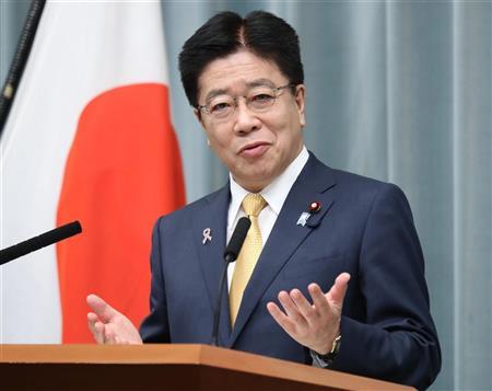 加藤官房長官が中国外相と会談「日中の良好な関係を大事に」と表明