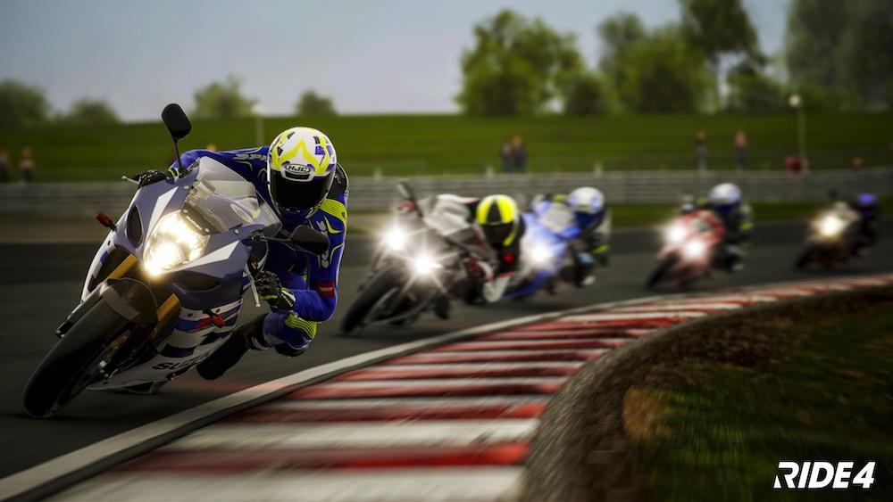 シリーズ最新作PS4/Xbox One/PC「RIDE 4」本日発売!250種類以上のバイクと世界各地34種類以上のサーキットが実名で収録