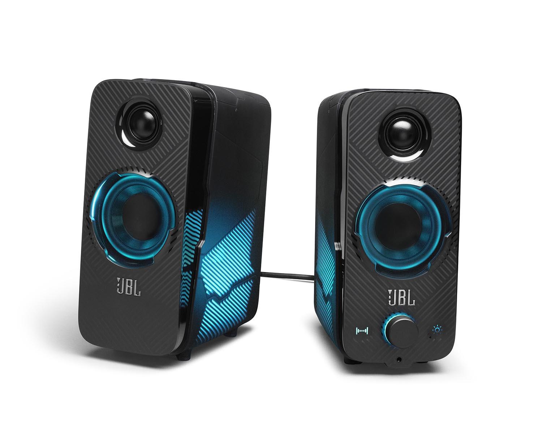 [ITmedia PC USER] JBL、音に連動した発光も楽しめるPC向けゲーミングスピーカー