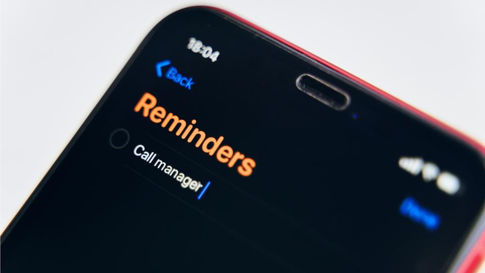 iPhone「リマインダー」がさらに便利に。並べ替えなど新機能が追加