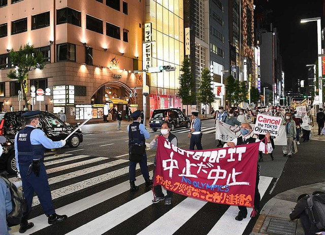 「強硬開催なら開幕日にデモやります」東京五輪開催反対派が怒りの声