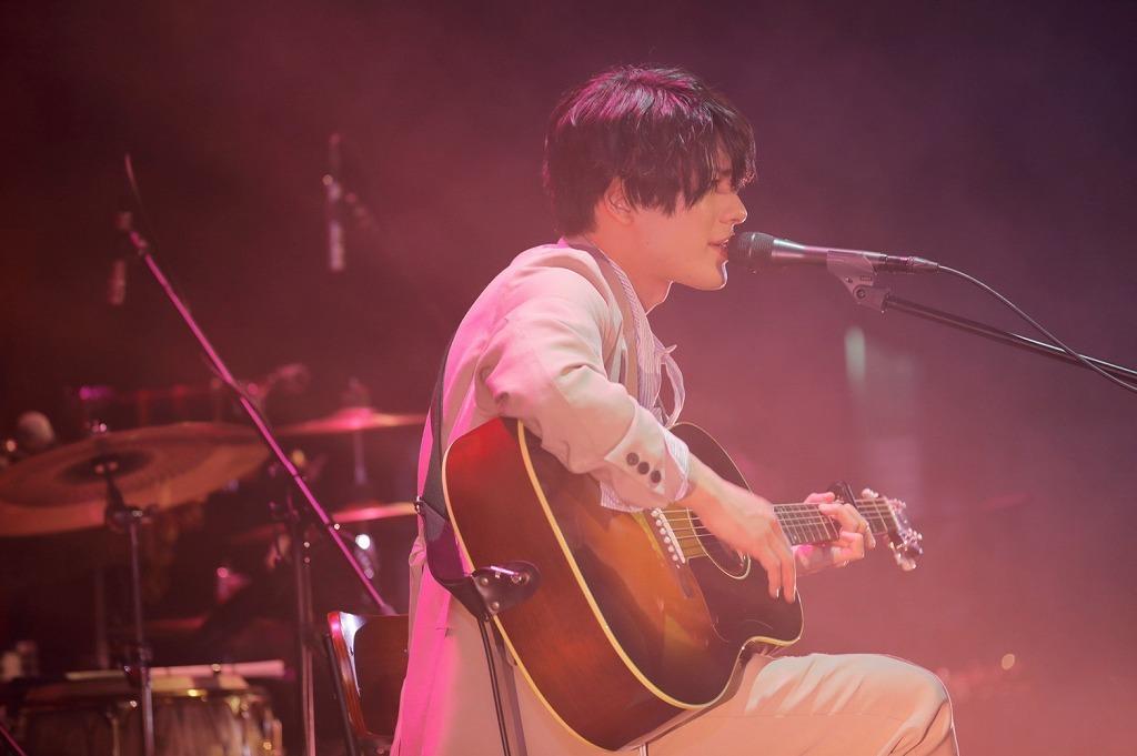 崎山つばさ「こうして会える事が大事で、今後も大事にしていきたい」 Billboard Live Tourの初日がスタート