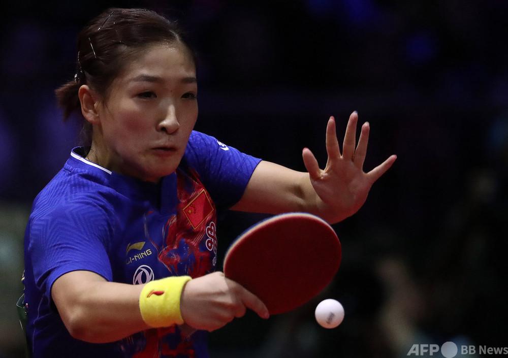 中国卓球の世界女王、東京五輪のシングルス代表から外れ物議