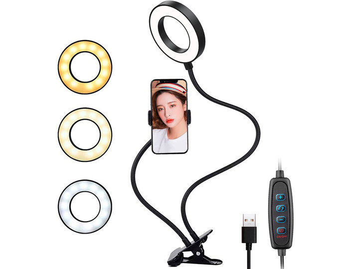 【Amazonタイムセール中!】41%オフで681円のクリップ式LEDリングライトや32%オフの氷も砕ける小型ミキサーなど