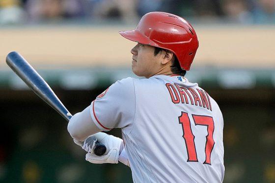 大谷翔平が2戦ぶりの先発出場で3試合連続安打 第1打席で183キロ二塁打