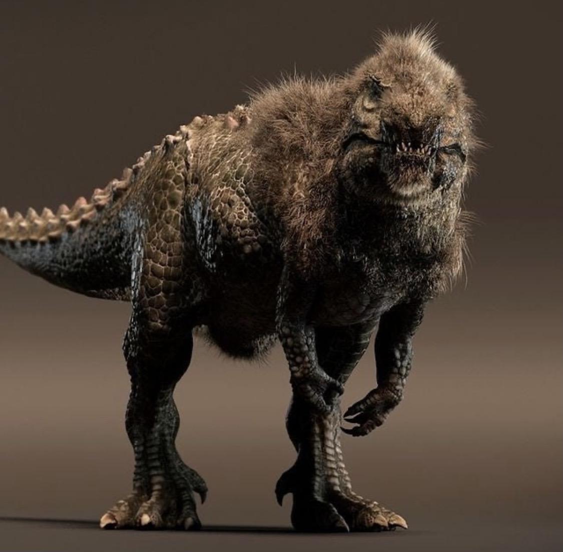 【画像】羽毛バージョンのティラノサウルスで悪くないやつ見つけたwwwwwwwww