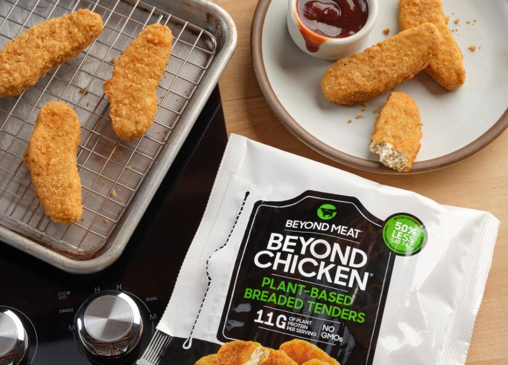 Beyond Meatの植物由来「チキン」テンダーが食料品店に登場