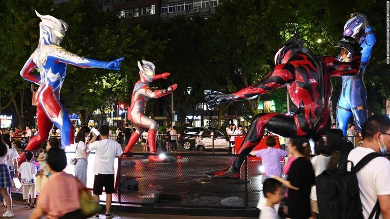 中国当局、アニメや子ども向け番組を規制 「ウルトラマンティガ」が削除に