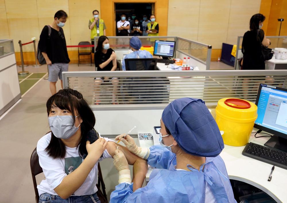 中国国内の新型コロナワクチン接種、22億回超える