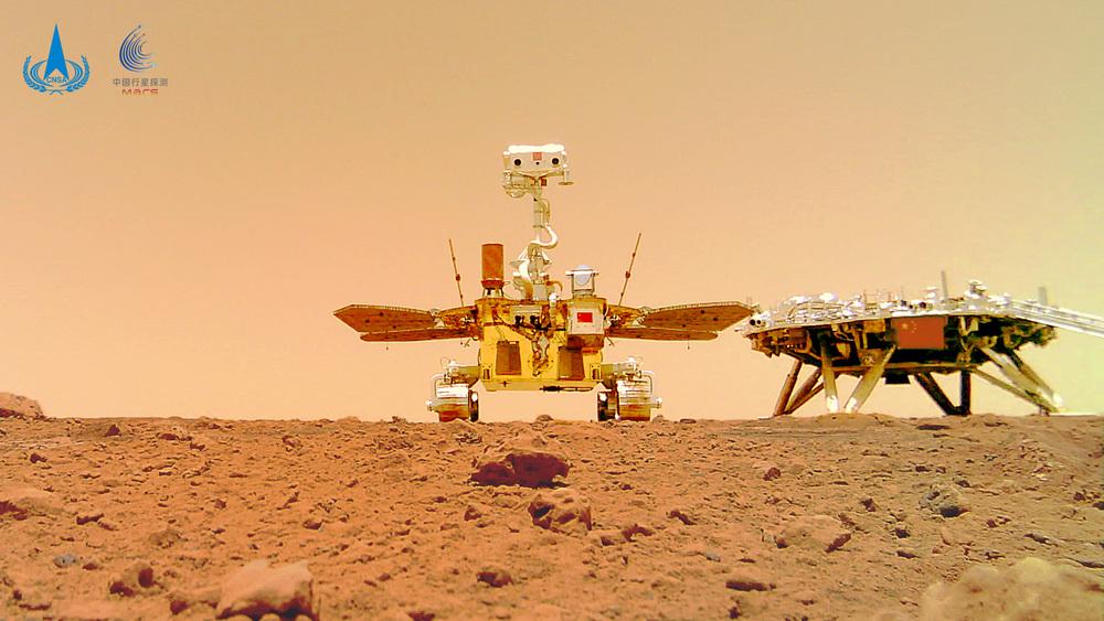 中国の火星探査機「天問1号」、初の太陽雑音妨害を乗り切る