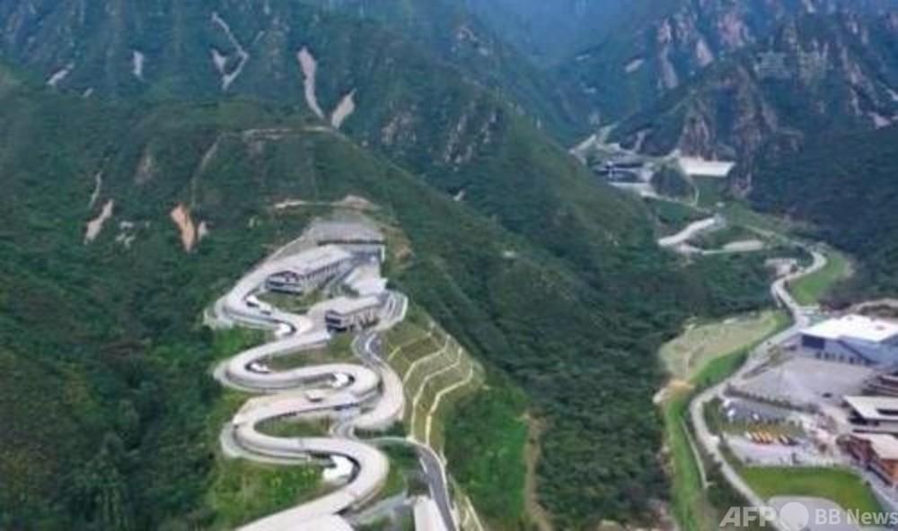中国初のそり競技コース「雪遊龍」